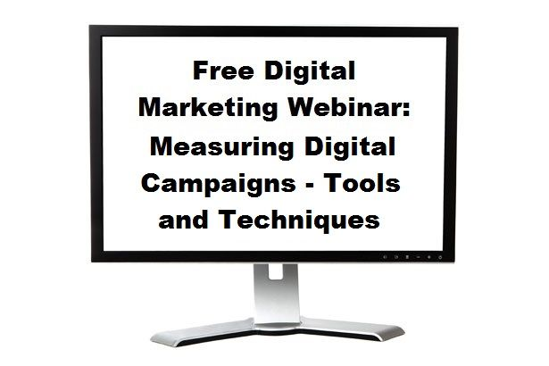 Recording of the webinar: Measuring Digital Campaigns - Tools and Techniques: by CIM Marketing College Oxford College of Marketing