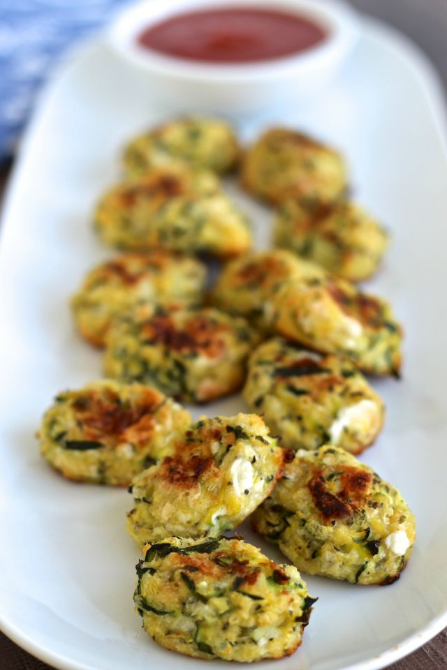 Tater Tots get a healthy makeover with Zucchini Tots -- perfect for ...