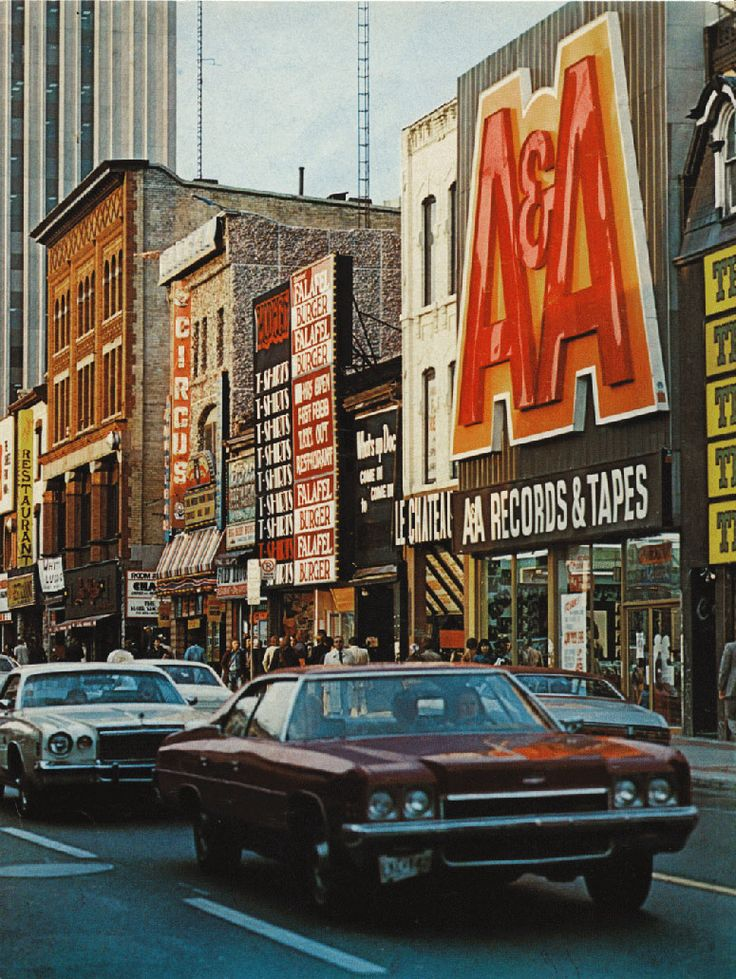 lost toronto in the 70's