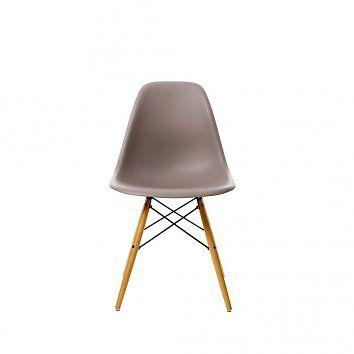Vitra Vitra Plastic Side Chair DSW (mauve grijs)