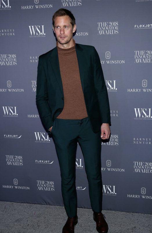 9097dc598833 Best Dressed Men of the Week Elegant in Prada for Alexander ...