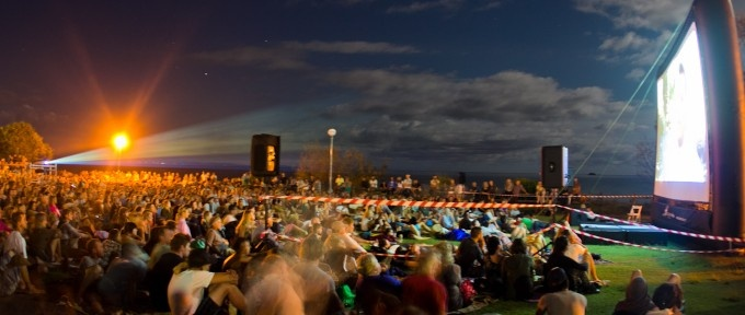 Byron Bay Film Festival (BBFF) #outdoor #movie #bbff2013 #byron bay