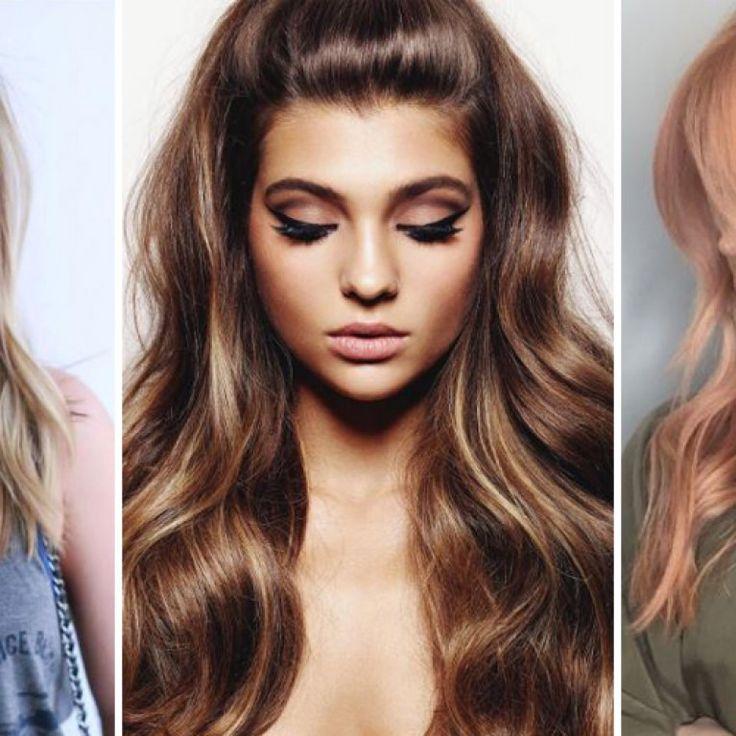 Trend Haarfarben 2019 Lovely Haarfarben Trends Herbst Winter 2016