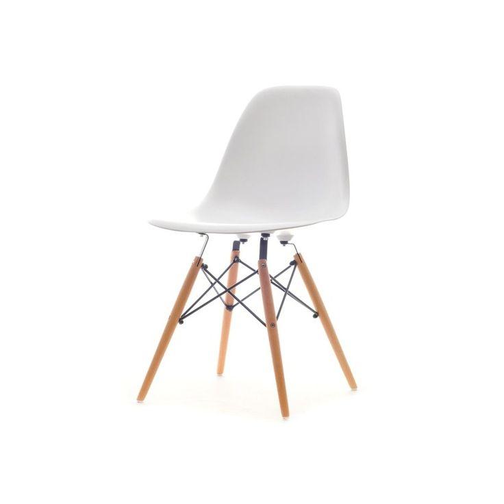jídelní židle MOBI bílá
