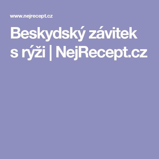 Beskydský závitek s rýži | NejRecept.cz