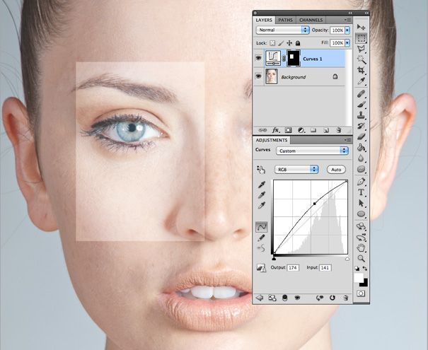 Skin Smoothing in Photoshop
