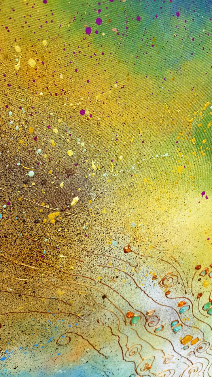 Gold path (60x105cm) by silaloba on Etsy