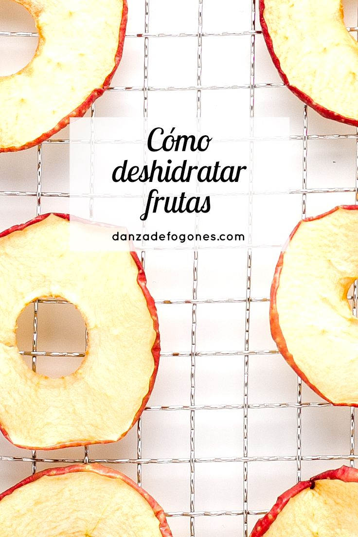 Cómo deshidratar frutas con una deshidratadora. Las frutas deshidratadas son un snack estupendo y son perfectas para viajar.