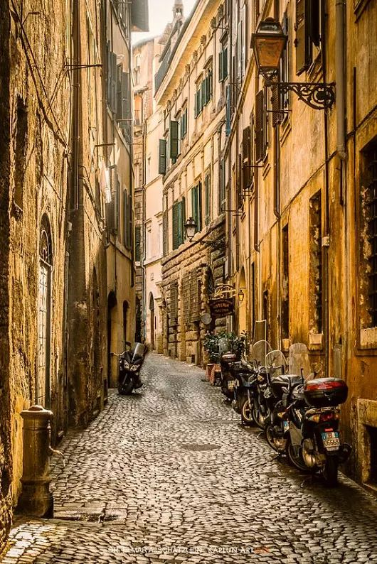 """Streets of #Rome (#Lazio, #Italy) by Elmar A. Schätzlein ""..."