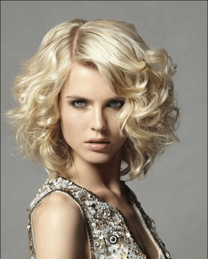 Bob frisuren mit locken 2012