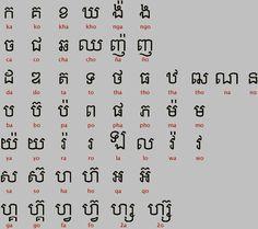 Ancient Scripts: Khmer