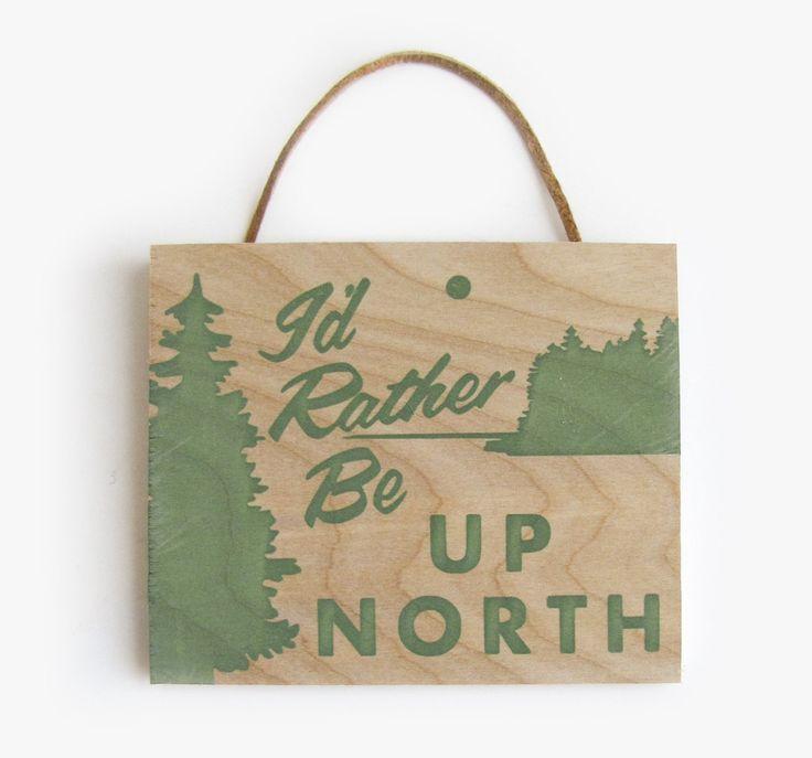Up North - 5x6 Birch