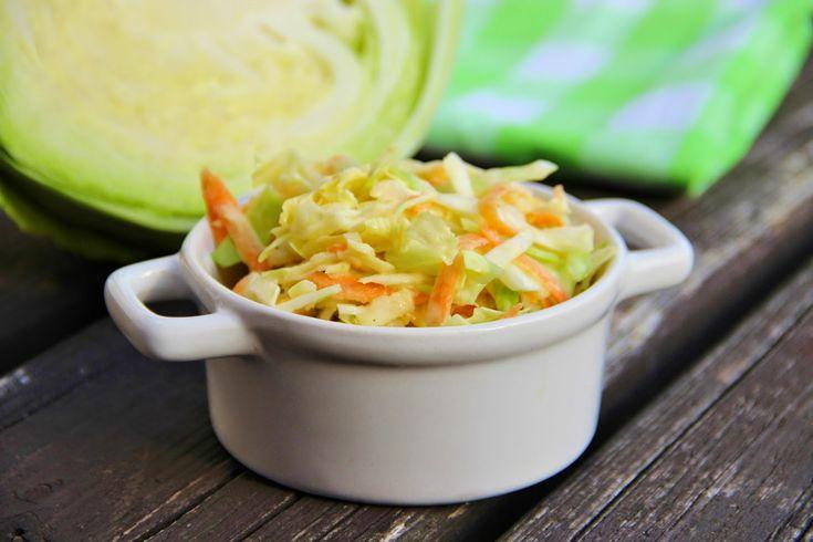 V kuchyni vždy otevřeno ...: Salát Coleslaw s celerem