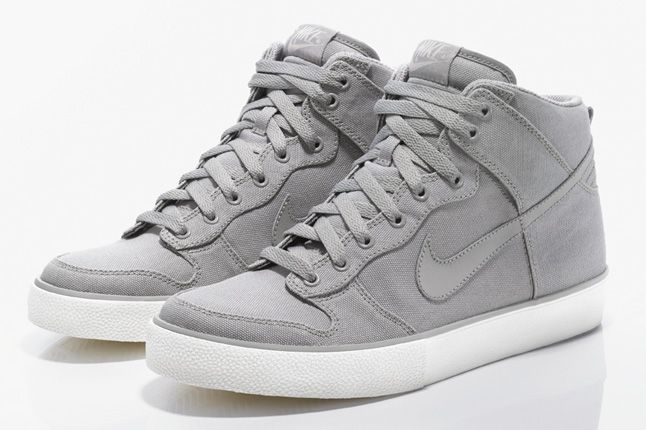 Undefeated released two new Nike Dunk Hi AC Tier Zero models today at all of their locations. Featuring a complete canvas shell, it gets treated with a white vulcanized outsole…making this sneaker the simplest high top I have ever seen. Available in either gray or black, I hope you picked yours up today, as these …