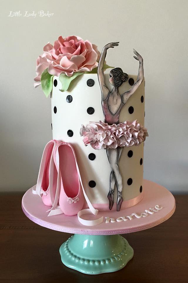 Ballerina cake - by Little Lady Baker