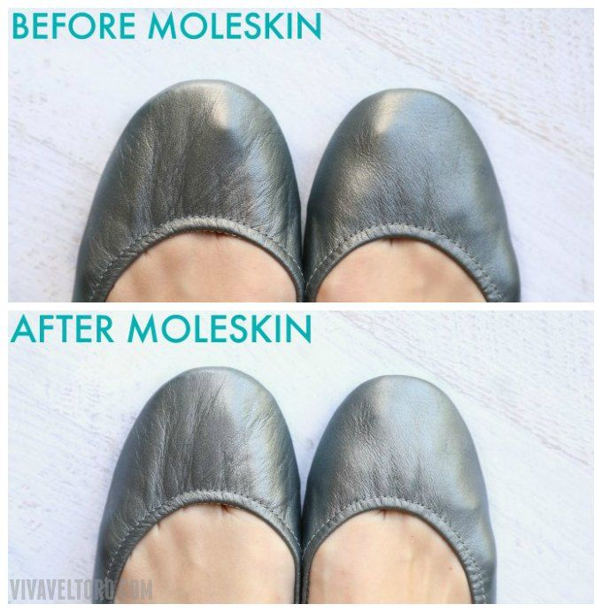 tieks and moleskin