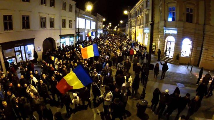 Klaus Iohannis preşedinte: am învins împreună! (marş paşnic la Sibiu, 16...
