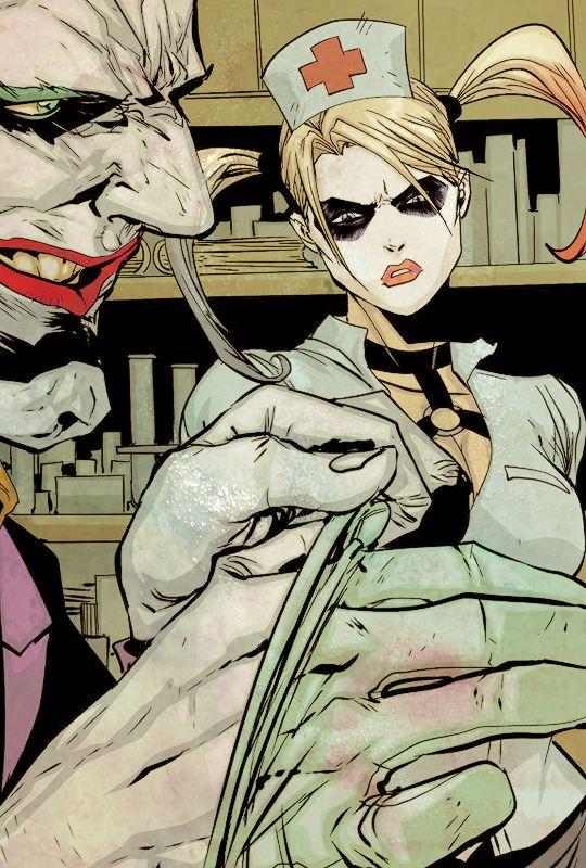 ♦ Harley & The Joker in Batman: Arkham Knight - Genesis #4
