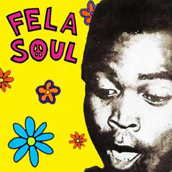 Fela Kuti + De La Soul = Fela Soul is an 8-track, 33 minute journey into the world of afrobeat rhythms, funky horn riffs, and classic hip-hop gems by Gummy Soul artist Amerigo Gazaway.