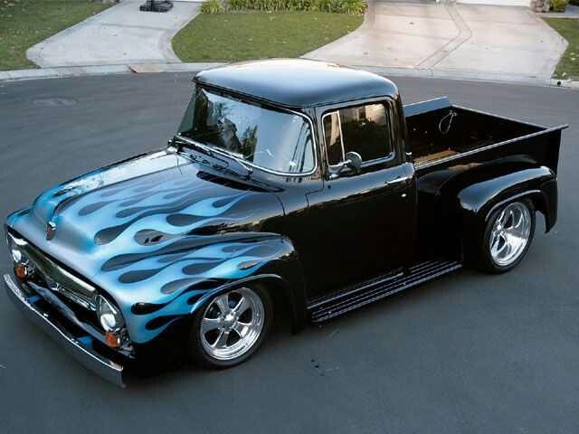 Blk  lowrider truck