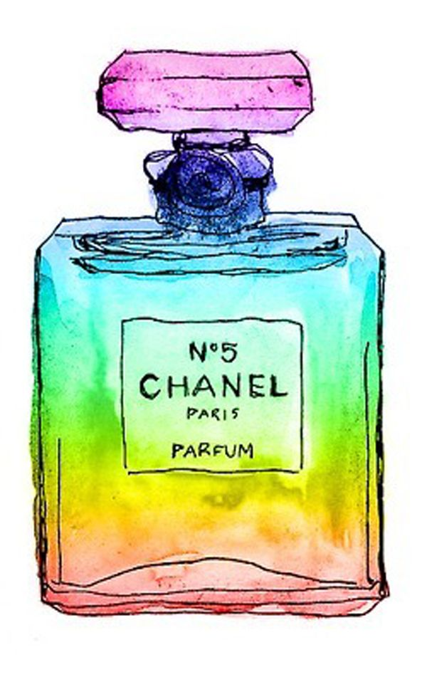Chanel in colour...