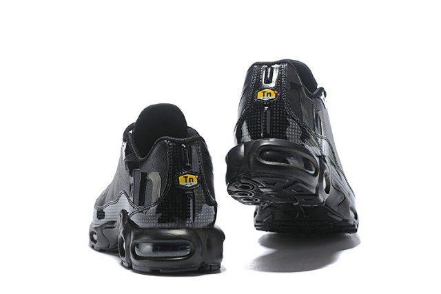 wholesale dealer 62356 a9b8c Nike Mercurial Air Max Plus Tn All Black Men s Running Shoes