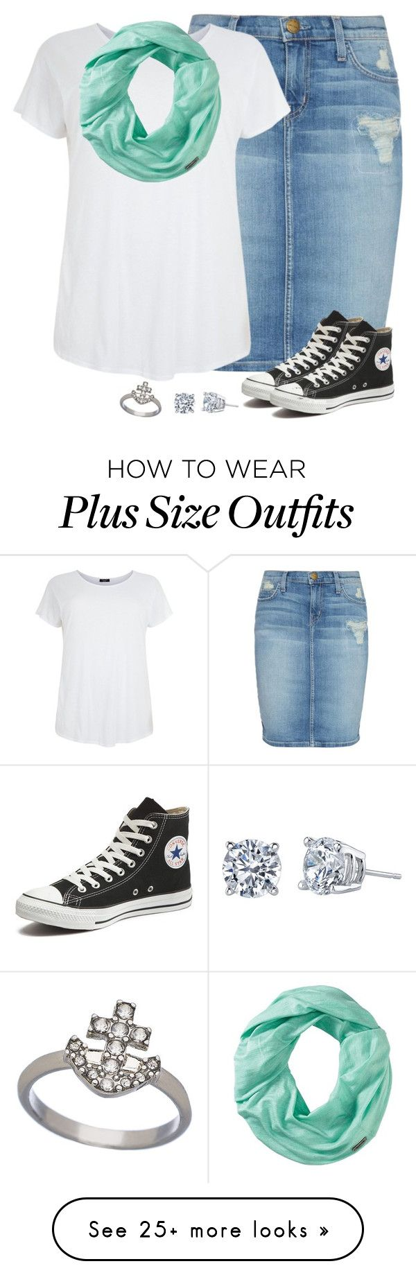 """""""Outfit ~Charity"""" by isongirls on Polyvore featuring Current/Elliott, Smartwool, Converse, Blu Bijoux, women's clothing, women's fashion, women, female, woman and misses"""