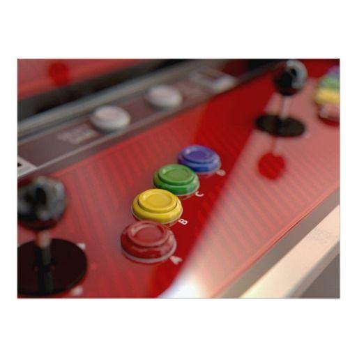 Arcade Machine Control Panel