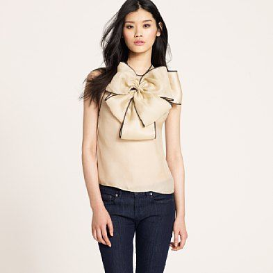 love the big bow| prabal gurung for j.crew