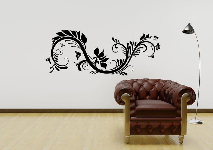 Beautiful Tribal Abstract Design Vinyl Wall Art Sticker Decal