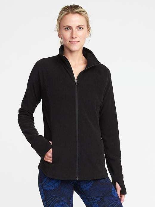 Old Navy Micro Fleece Full-Zip Jacket for Women