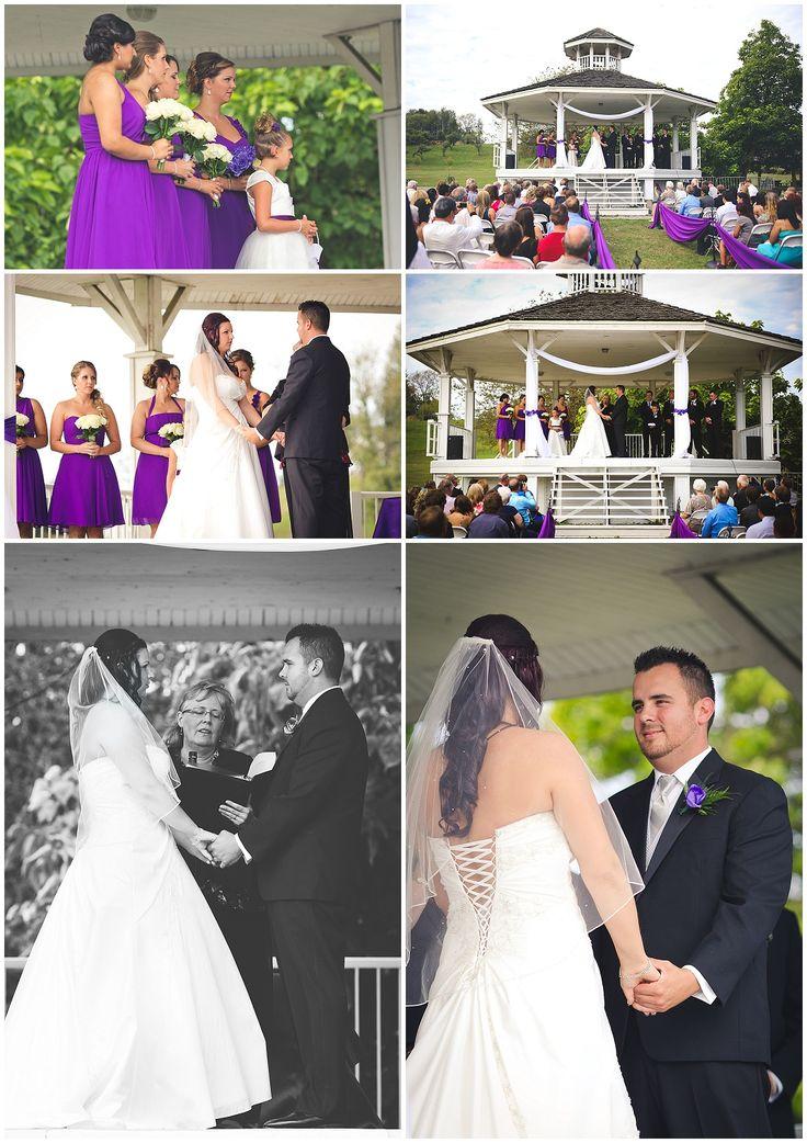 Mission Wedding Photographer - Heritage Park #purple #white #gazebo