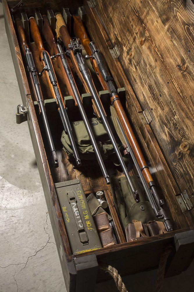 Homemade Gun Chest Wood Projects Amp Shop Ideas