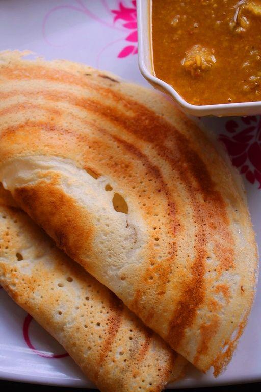Crispy Dosa Recipe / How to Make Crispy Dosa / No Fermentation Dosa /Gluten Free