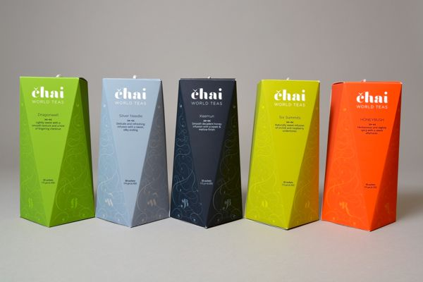 Chai Tea & Lounge - American Package Awards Winner 2014 by Katerina Paleckova, via Behance