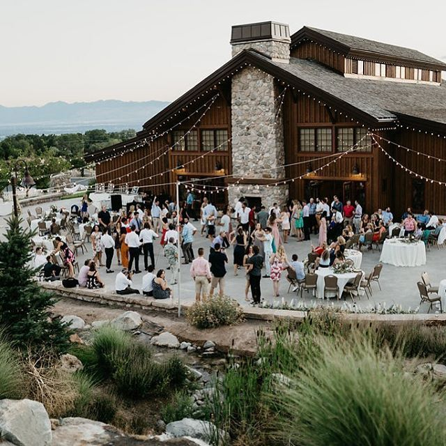 The Back Patio From Our Venue The Garden Place Brings All The Heart Eyes This Is The Place Weddings 801 924 7507 Photography Nicoleastonphoto Flor