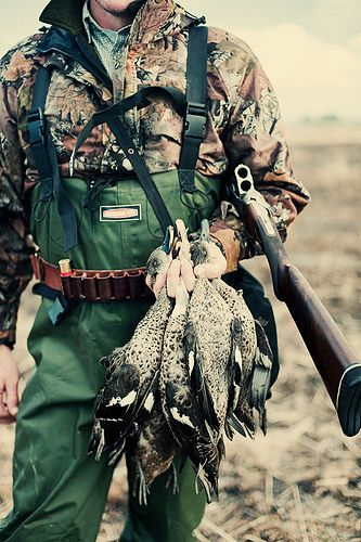 Duck hunting season is coming