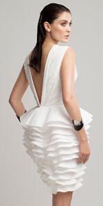 Both Worlds- Kleenex paper dresses finalist