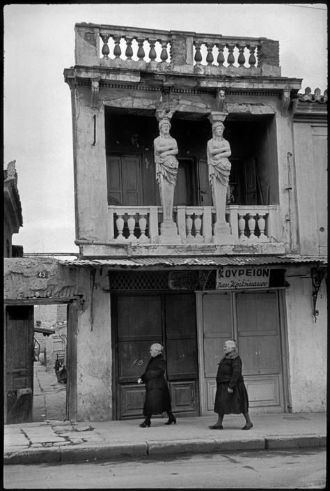 Athens, Henri Cartier-Bresson, 1953 #Greece