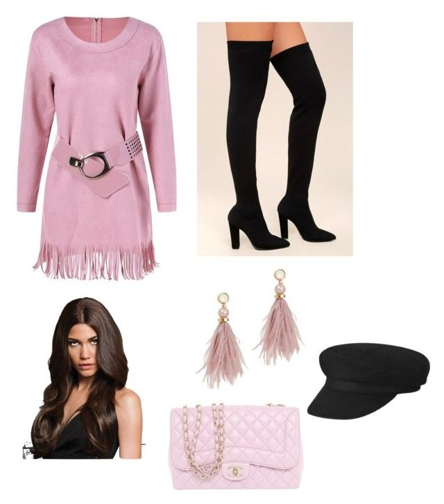 """""""Untitled #169"""" by denisapurple on Polyvore featuring Bamboo, Chanel and Lizzie Fortunato"""