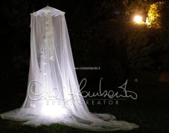 lanterna di veli per giardino incantato