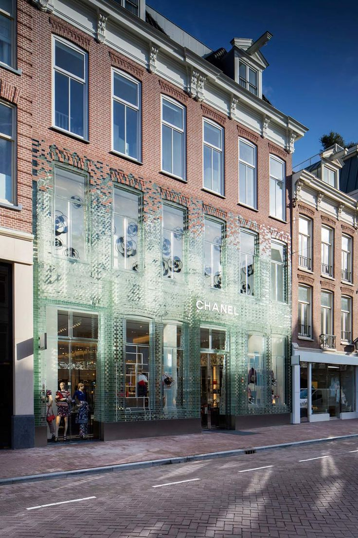 superfuture :: supernews :: amsterdam :: chanel store relocation © chanel and mvrdv
