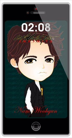 postCARD wallpaper phone | OGS RETURNS Namu ver. | created by +Ratna Har (Little Lumut)