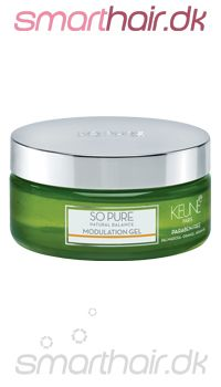 Keune So Pure Modulation Gel er en hårgelé med superhold. Indeholder essentielle olier fra palmerose og appelsin.