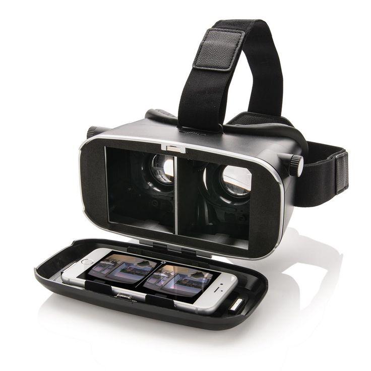 VR-boks 3D-briller, sort   Xindao