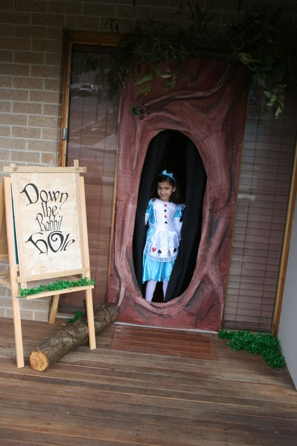 "Photo 3 of 40: Alice in Wonderland, Mad Tea Party / Birthday ""Down the Rabbit Hole"" 