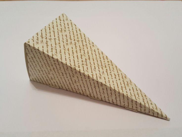 Vintage Love Letter Romantic Words Books Literary Wedding Confetti Favour Cones