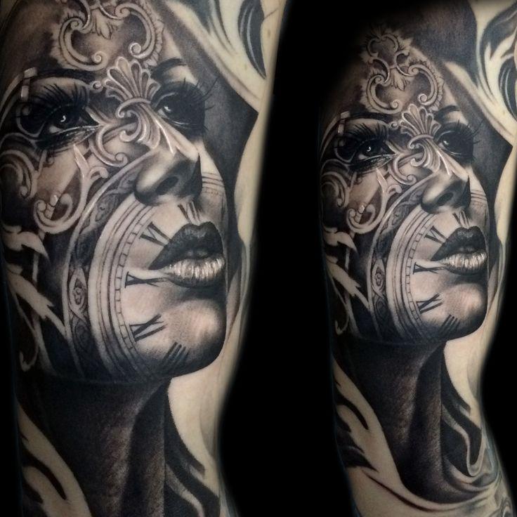 clockface #morph #blackandgrey #clock