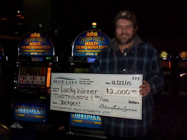 Congratulations goes out to Brett who hit a $2000 #jackpot on a Game King machine! #jackpotalert