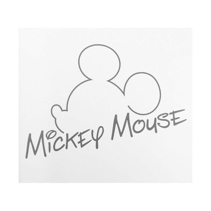 Anel Muursticker Groot Mickey mouse